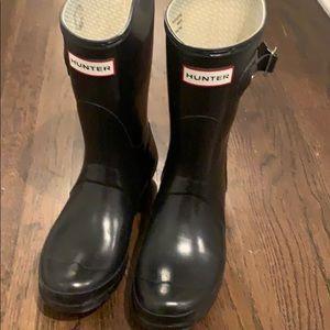 Hunter rain boots (short)
